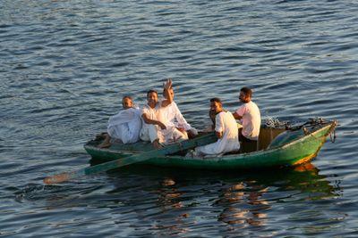 Men-in-boat