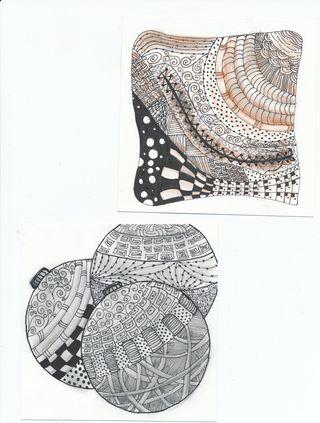 Zentangles--2-&-3
