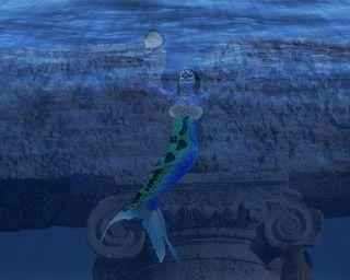 Greek-column-underwater