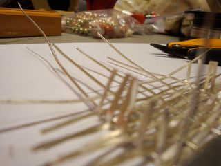 Weaving-pendent