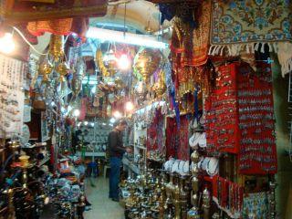 Arab-Quarter-Market-niche,-Jerusalem