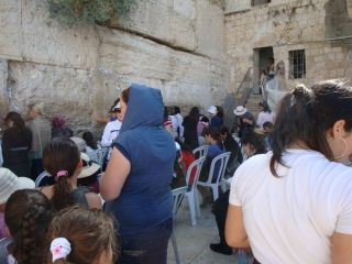 Women's part of western wall
