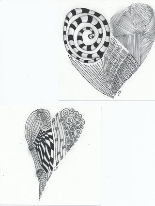 Zentangle-hearts-2