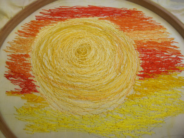Thread-painting-sunset-finished