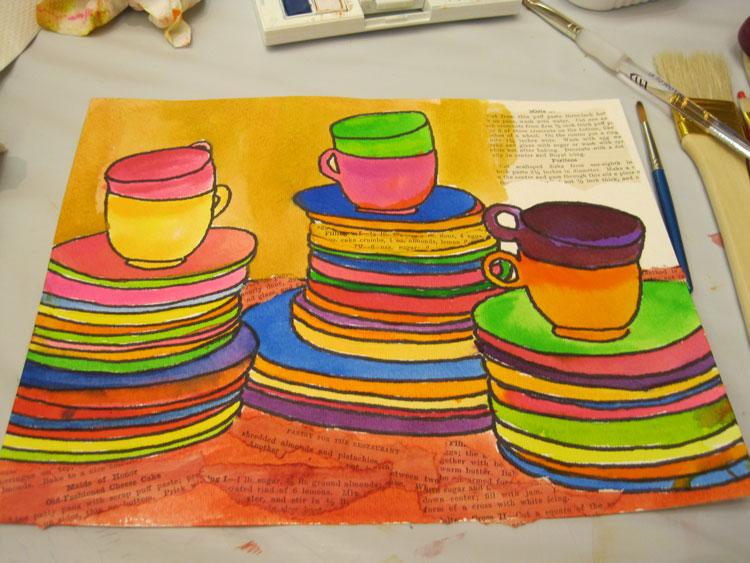 Stitch-imagery-watercoloring
