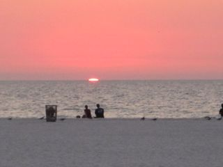 Sunset-at-Cleawater-Beach