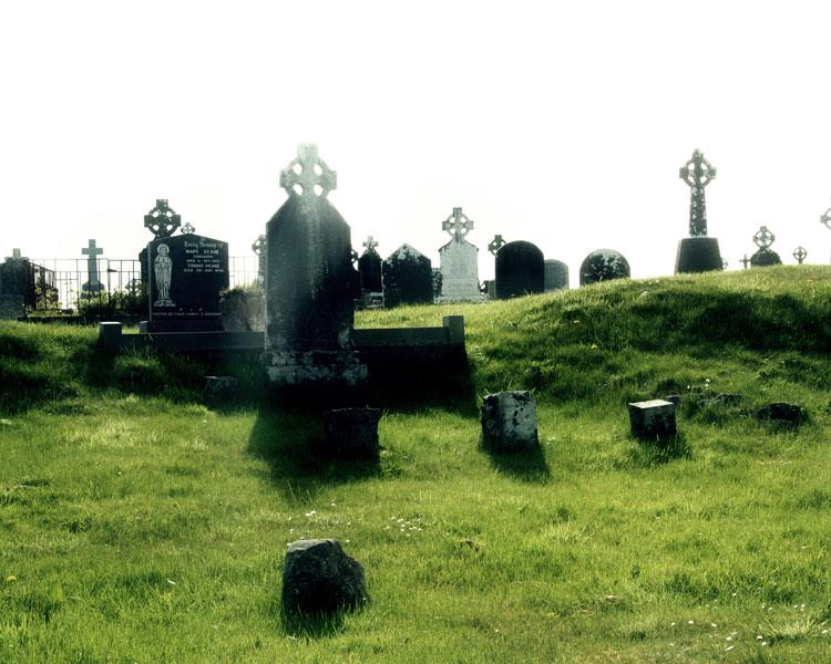 Irish-graveyard