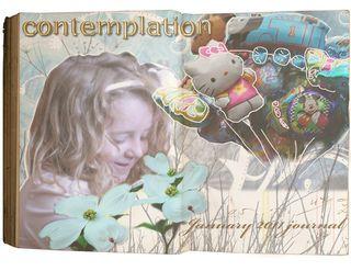 Digital-journal-contemplation-page