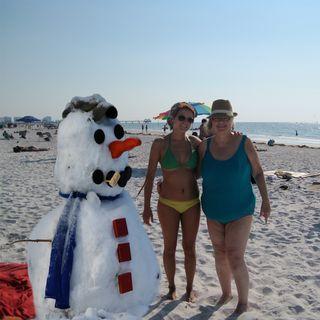 Snowman-and-becky-on-beach