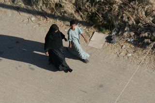 Luxor-woman-and-boy