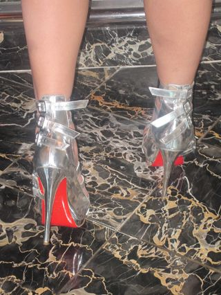 Red-soled-shoes
