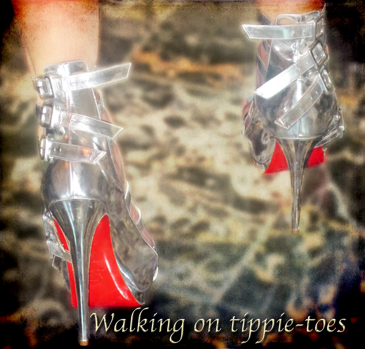 Walking-on-tippietoes