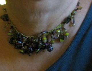 Fingerweaving-necklace