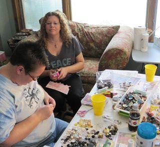 Sorting-beads