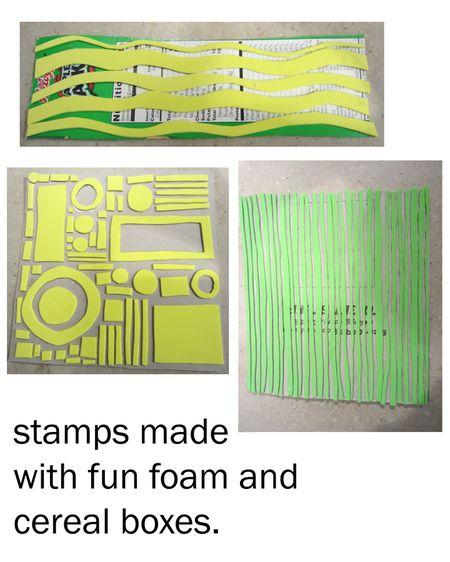 Fun-foam-stamps