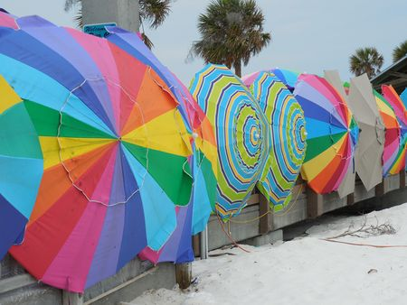 Clearwater-beachumbrellas