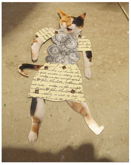 Paper-doll-cat