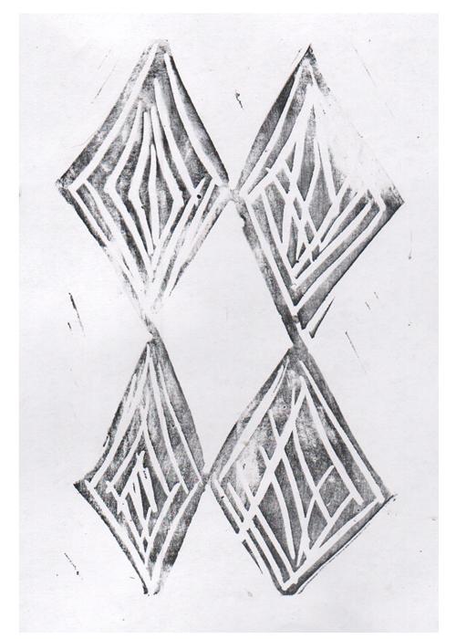 Stamped-diamonds