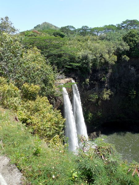 Kauai-waterfall