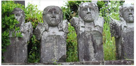 Urakami-stone-angels