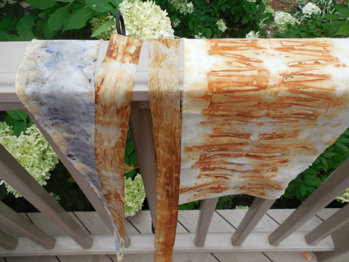 Rust-dyeing