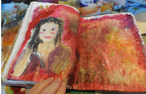 Journal-background-first-painted-lady