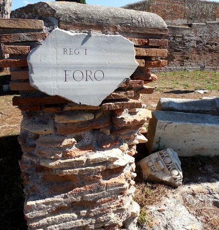 Ostia--ForumAntica