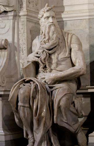 Rome-Michelangelo's-Moses