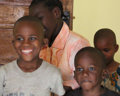 At-orphanage