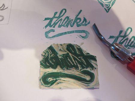 Stamp-thanks