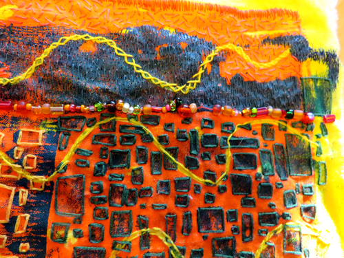 Detail-embroidered-monoprint