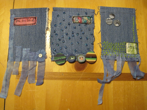 Denim-flags