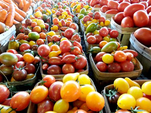 Farmers-market-tomatoes